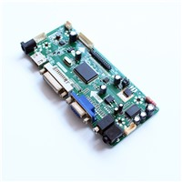 LCD TFT LCD Controller Board with HDMI DVI AUDIO VGA Input Interface Support Resolution 1280X1024 LCD Module