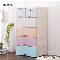Storage Drawers Cabinet Plastic Storage Box for Storage Clothes Kid's Toys Or Sundries