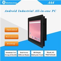 Android 10/15/17/21 Inch Wall Mount A64 Industrial All-In-One PC