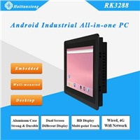 Android 10/15/17/21 Inch Embedded Rk3288 Industrial All-In-One PC