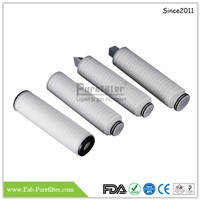 PTFE Membrane Gas Filter Cartridge for Aggressive Gas Filtration Use for Sterilized Inlet Filtration, Breath Filtratio