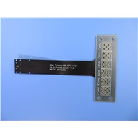 Single Layer Flexible Printed Circuit (FPC) with Stainless Steel Stiffener for Wireless Module