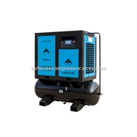 Tank Mounted Small Rotary Screw Air Compressor