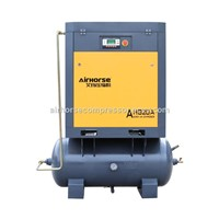 Belt Driven Screw Air Compressor with Air Receiver