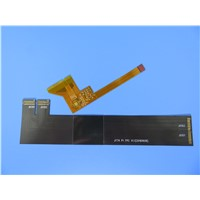 Flexible Double Sided PCB Made on Polyimide for Video System