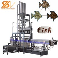 2019 Aquatic Fish Feed Pellet Extruder Machine Plant Equipment Production Processing Line