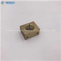 1 Piece SM52 PM52 Pull Gauge Copper Set L2.072.331 Heidelberg PM74 CD74 XL75 Machine SM74 Lock Nut Copper Material G2.07