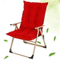 Office Adjustable Nap Lazy Chair with Comfortable Cotton Cushion