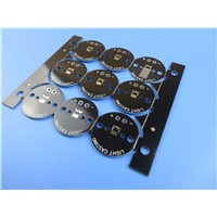 Aluminum PCB Double Sided 0.6mm Thick Plated Trhough Hole (PTH)