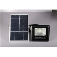 Premium Merchant Black U-Shaped Frame 6W/6V LED Flood Solar Light 25w Flood Lamp
