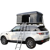 1-2people 4X4 Folding Waterproof Car Roof Tent with Telescopic Pole for Camping