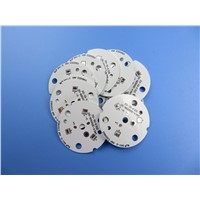 LED PCB Aluminum Circuit Board 2W / MK for High Power LED