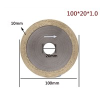 Metal Diamond Cutting Wheel for Flat Glass, Diamond Blades for Glass