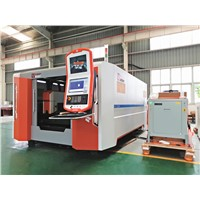 Fiber Laser Metal Sheet Cutting Machine Full Closed with Exchange Tables