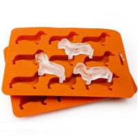 2019 Hot Sale Ice Tube Silicone Dog Mold Factory Customize Ice Trays Mold