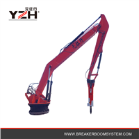 Hydraulic Rockbreaker Boom System for Jaw Crusher Sale