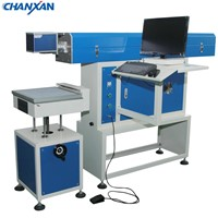 Laser 3D Portable CNC Dynamic CO2 Laser Marking Engraving Machine for Leather Jeans