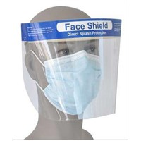 Disposable Anti-Fog Face Shield for Protection of Ebola Virus