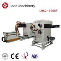 3 in 1 Customize Steel Coil Reel Servo Feeder Straightener Uncoiling Machine for Press Cutting Line