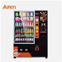 AFEN Large Advertising Display Hot Food Coffee Combo Vending Machine