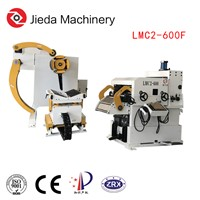 Hydraulic Cold Roll Steel Coil 3 in 1 Nc Servo Thin Plate Straightener Uncoiler Feeding Machine Press Line