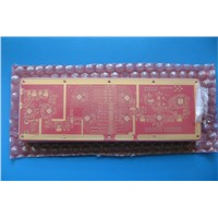 10 Layer RF PCB with RO4350B & FR-4 Combined