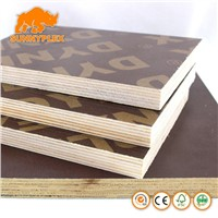 18mm Concrete Formwork Film Faced Shuttering Plywood