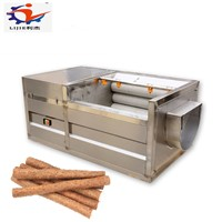 Good Performance Sweet Potato Ginger Washing & Peeling Machineand Peeling Machine