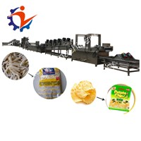 Ndustrial Automatic Potato Crisp Production Line Lays Potato Chips Making Machine for Sale