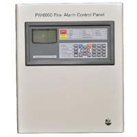 Addressable Fire Alarm Control Panel Security Controller Fire System 1 Loop 128/200points