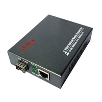 ADRA Gigabit Ethernet Media Converter 10/100/1000M to 1000M with SFP Port 0~120KM