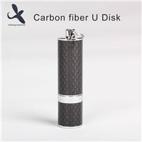 Deluxe 100% Real New U Disk 32GB Carbon Fiber U Disk Storage in USB Flash Drives