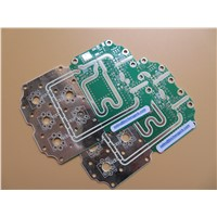 High Frequency PCB RO4003C 32 Mil HASL Green Solder Mask