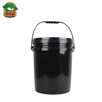 Custom Logo & Color 18L Black Oil Empty Plastic Drum