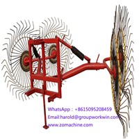Wheel Rotary Rake Machine for Sale