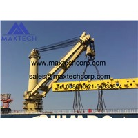 Safety Working Load 50 Tons Price below Market Price of Marine Hydraulic Crane Spot