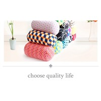Micro Microbead Pillow Roll Neck Pillow Column Pillows for Travel Accessories Comfortable Pillows For Sleep Home Textile