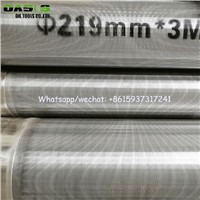 Drilling Well Screen, Wire Wrap Stainless Steel Water Well Screens, Rod Base Wedge Wire Screens