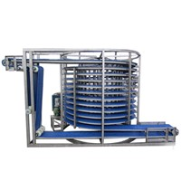 Single Drum Spiral Freezer for Meat