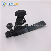 2 Pieces Durable 15.7x2.5x9Hcm Black Color Heidelberg Sheet Separator Length 15.7cm