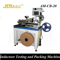 Automatic SMD Inductor Testing & Packaging Machinery Tape & Reel Machine
