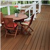 Weather Resistant Wood Texture Outdoor Veranda WPC Porch Flooring