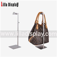 Lilladisplay- Adjustable Stainless Steel Handbag Display Stand for Counter Display BDR02