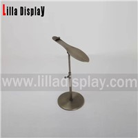 Lilladisplay- Retail Gold Chrome Metal Shoe Rack Display Shoes Stand with Shoes Shape Design Style SDR05S