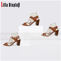 Lilladisplay-Transparent Shoes Fit Retail Shoes Store Use Display Stand for 6cm-9cm Height Pumps, Wedges, High Heel Disp