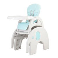 Multifunction 3 in 1 Plastic Dinner Chair Baby High Chair