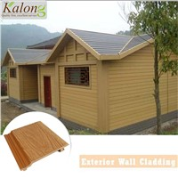Moisture Proof Anti Rot Villa WPC Outdoor Wall Panel