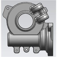 Die Casting Aluminum Housing for EPS (Electric Power Steering)