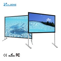 Portable Rear Projection Fast Fold Projector Screen