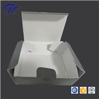 Blank Grey Special Shape Foldable & Unfoldable Cosmetic Packaging Corrugated Mailer Box